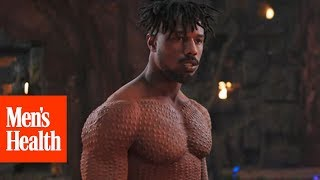 How Michael B. Jordan Got Jacked For 'Black Panther'   Men's Health