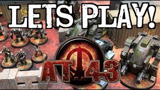 Let's Play! – #TBT AT-43 by Rackham Entertainment