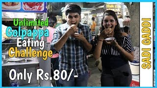 Unlimited Golgappa Eating Competiton | Pani Puri Challenge | Food Challenge
